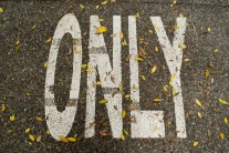 only sign